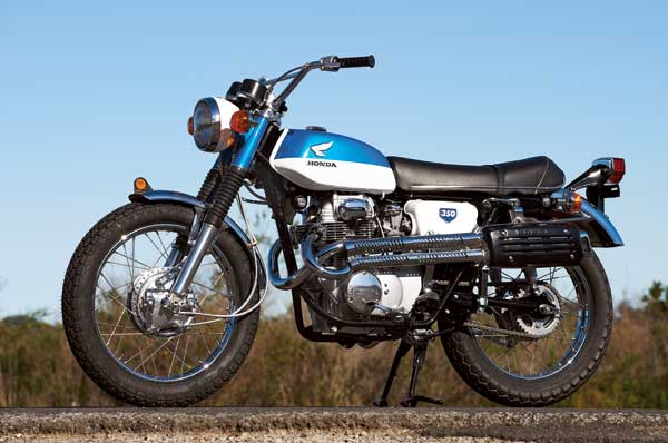 Honda-CL350-Left-Full-View