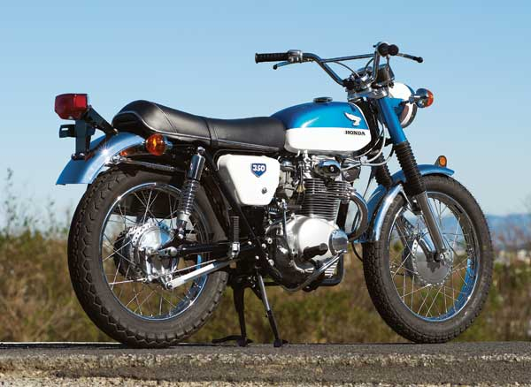 Honda-CL350-Right-Back-View